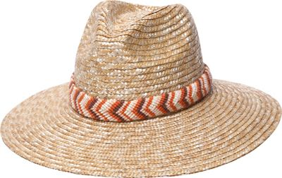 Physician Endorsed Nola Fedora Hat One Size - Natural - Physician Endorsed Hats/Gloves/Scarves