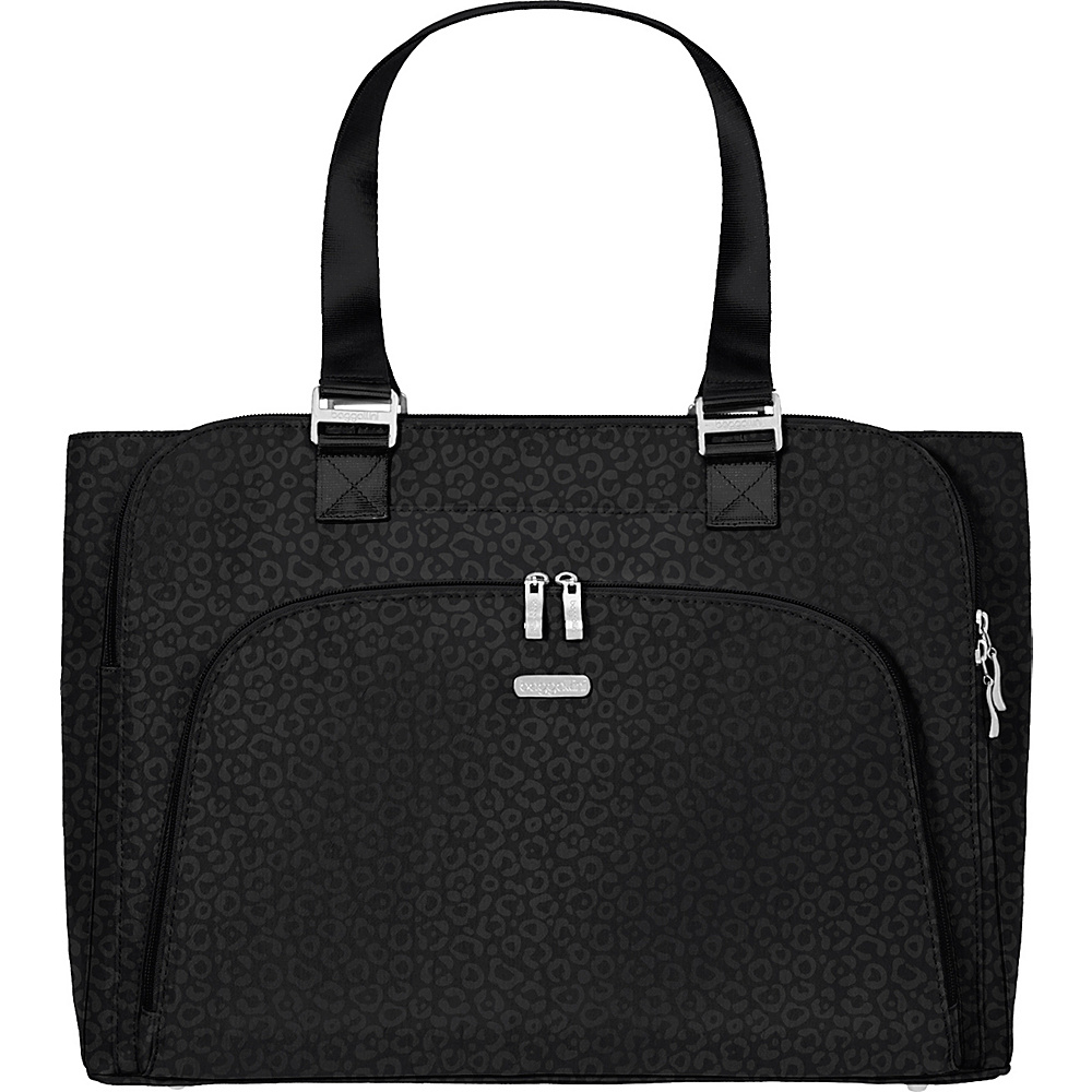 baggallini Errand Laptop Bag - Retired Colors Black/Cheetah - baggallini Womens Business Bags - Work Bags & Briefcases, Women's Business Bags
