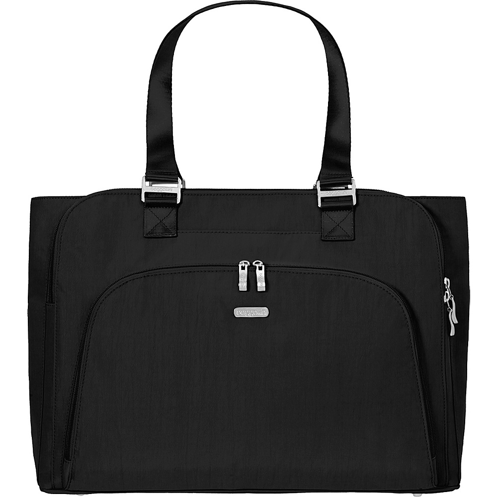 baggallini Errand Laptop Bag - Retired Colors Black/Sand - baggallini Womens Business Bags - Work Bags & Briefcases, Women's Business Bags