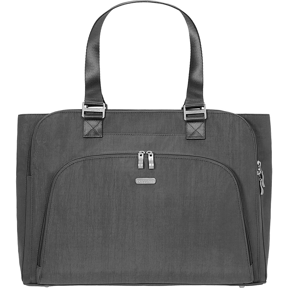 baggallini Errand Laptop Bag - Retired Colors Charcoal - baggallini Womens Business Bags - Work Bags & Briefcases, Women's Business Bags