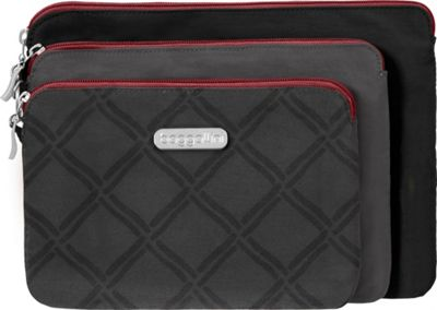 Image of baggallini 3 Pouch Travel Set - Retired Colors CHARCOAL LINK MULTI - baggallini Women's SLG Other