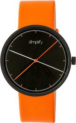 Simplify The 4100 Unisex Watch Orange - Simplify Watches