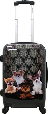 Chariot Doggies 20'' Hardside Spinner Carry On Doggies - Chariot Softside Carry-On