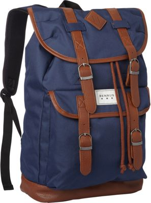 BENRUS Scout Backpack Navy - BENRUS Everyday Backpacks