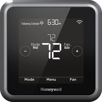 Honeywell Honeywell Lyric T5 Wi-Fi Smart Thermostat Black - Honeywell Smart Home Automation