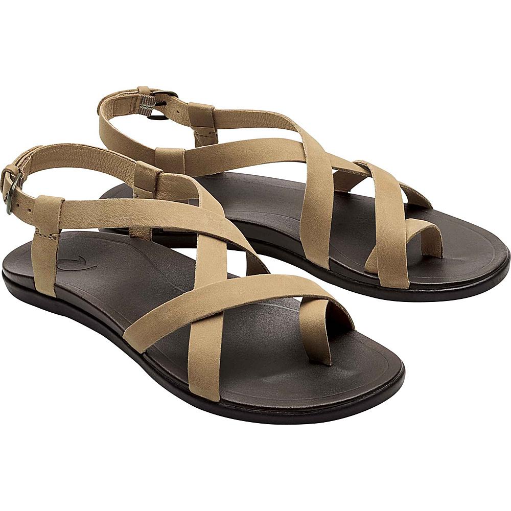 OluKai Womens Upena Sandal 5 - Golden Sand/Golden Sand - OluKai Womens Footwear - Apparel & Footwear, Women's Footwear