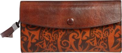 Old Trend Old Trend Aster Clutch Cognac - Old Trend Women's Wallets