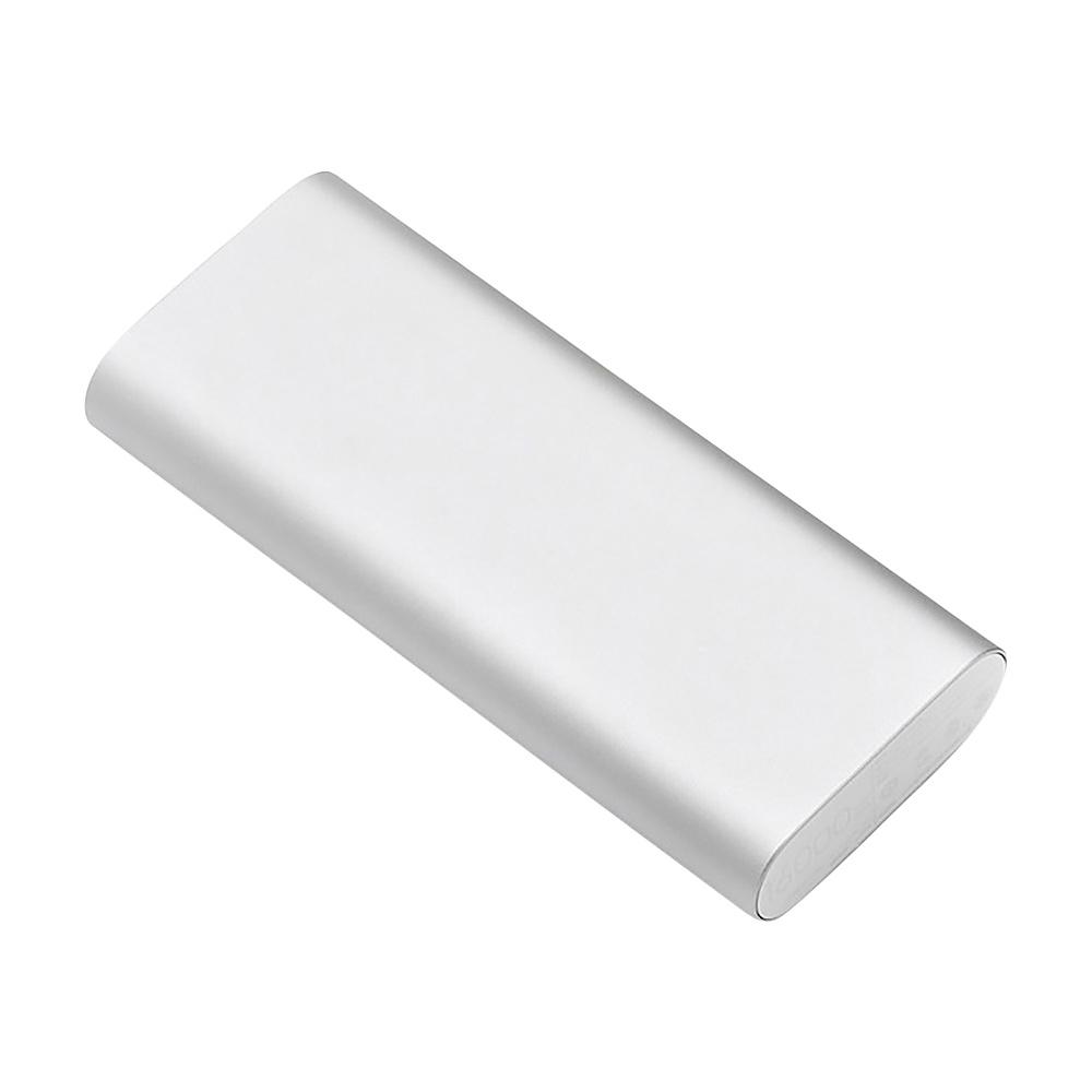 Koolulu On The Go Power Bank Silver Koolulu Portable Batteries Chargers