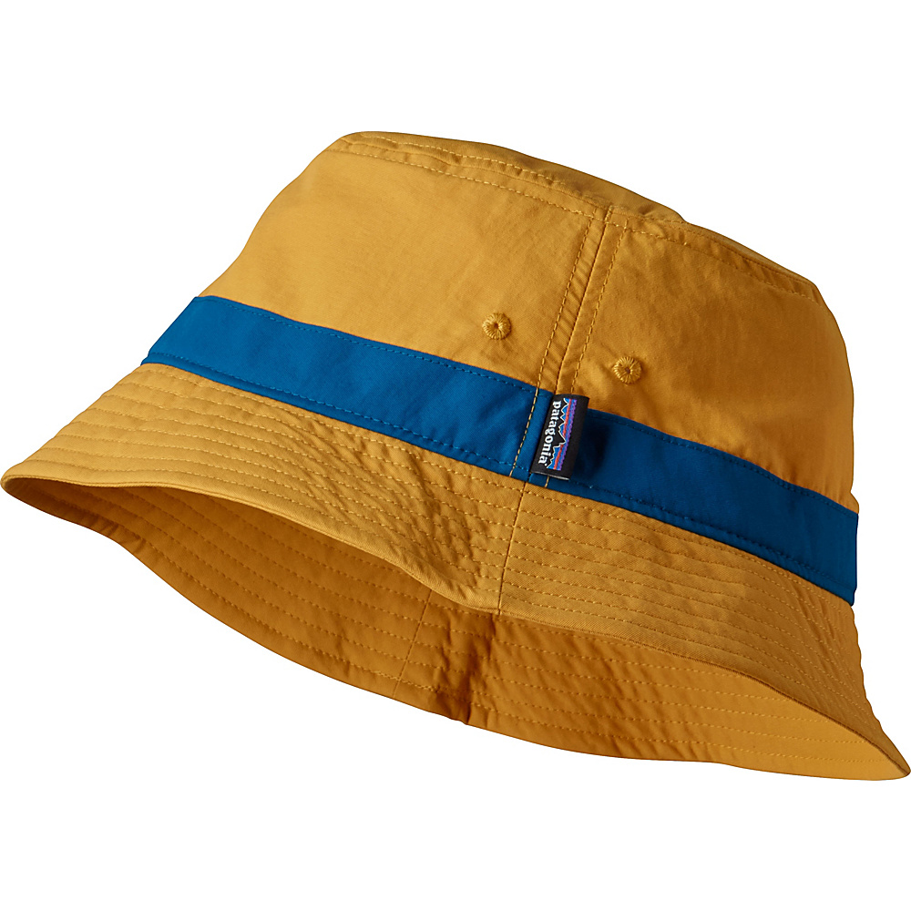 Patagonia Wavefarer Bucket Hat L/XL - Yurt Yellow - L/XL - Patagonia Hats/Gloves/Scarves - Fashion Accessories, Hats/Gloves/Scarves