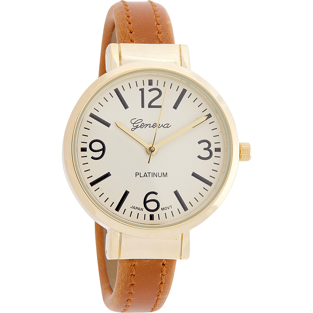 Samoe Leather Cuff Watch Luggage Samoe Watches