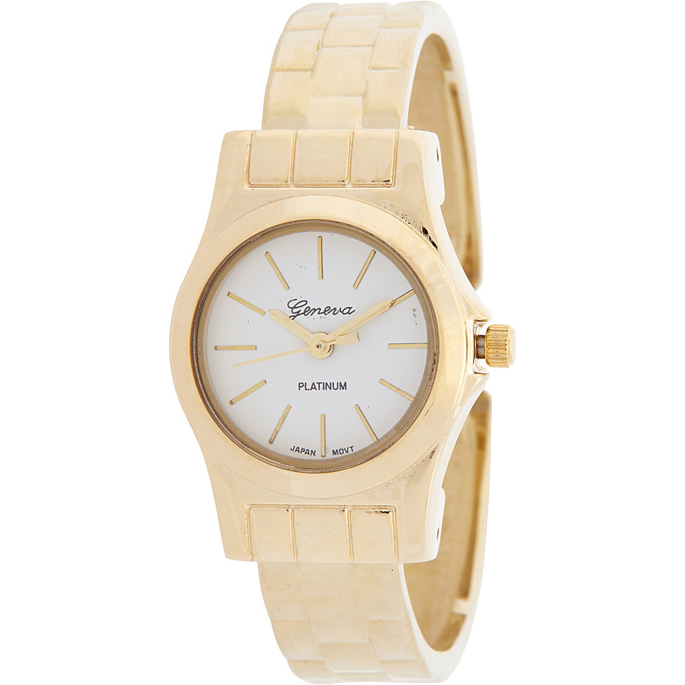 Samoe Faux Link Cuff Watch Gold Samoe Watches