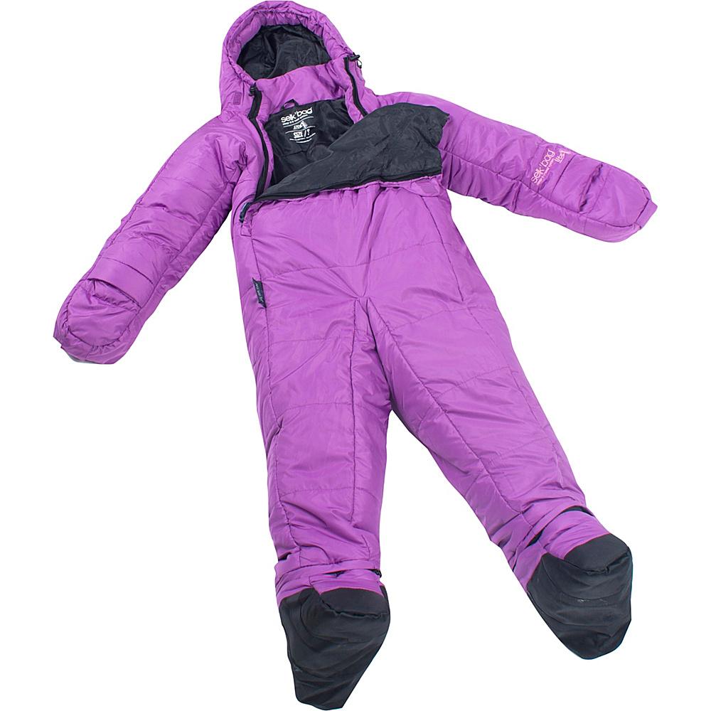 Selk bag Adult Lite 5G Wearable Sleeping Bag Twilight Violet Large Selk bag Outdoor Accessories