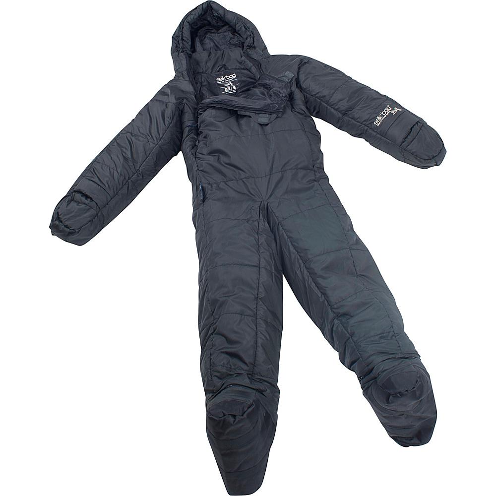 Selk bag Adult Lite 5G Wearable Sleeping Bag Asphalt Grey Medium Selk bag Outdoor Accessories