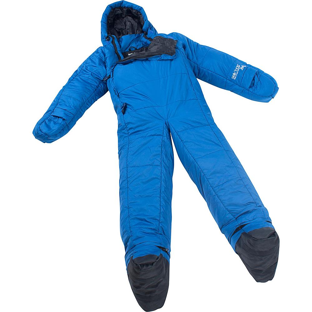 Selk bag Adult Lite 5G Wearable Sleeping Bag Seaport Blue Small Selk bag Outdoor Accessories