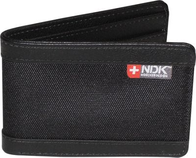 Nidecker Design Capital Collection Front Pocket Slimfold Wallet Black - Nidecker Design Men's Wallets