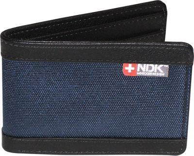 Nidecker Design Capital Collection Front Pocket Slimfold Wallet Indigo - Nidecker Design Men's Wallets
