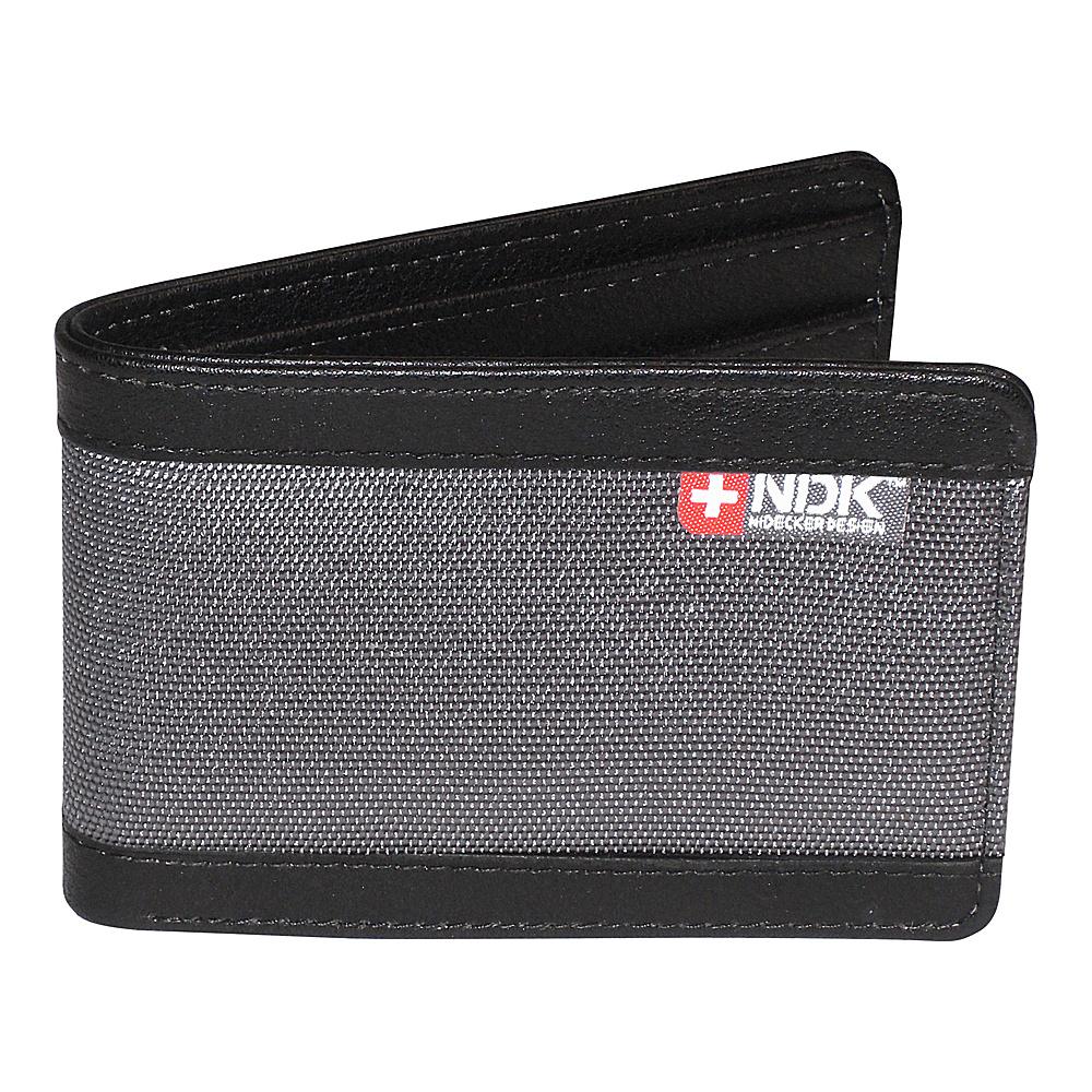 Nidecker Design Capital Collection Front Pocket Slimfold Wallet Shale Nidecker Design Men s Wallets