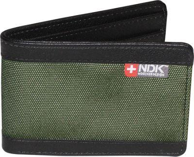 Nidecker Design Capital Collection Front Pocket Slimfold Wallet Moss - Nidecker Design Men's Wallets