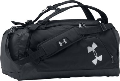 Under Armour Undeniable Backpack Duffel Medium Black/Black/Silver - Under Armour Gym Duffels