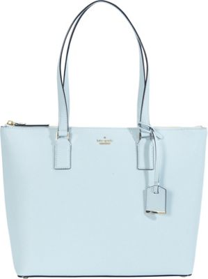 kate spade new york Cameron Street Lucie Tote Shimmer Blue - kate spade new york Designer Handbags