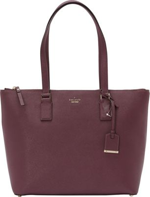 kate spade new york Cameron Street Lucie Tote Deep Plum - kate spade new york Designer Handbags