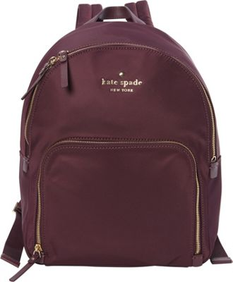 kate spade new york Watson Lane Hartley Backpack Deep Plum - kate spade new york Designer Handbags
