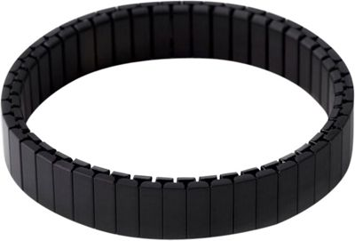 Rilee & Lo Stacking Bracelet for the Apple Watch - Shiny - S/M Black - Rilee & Lo Wearable Technology