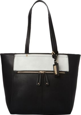 Hush Puppies Cassale Tote Black/Grey - Hush Puppies Manmade Handbags