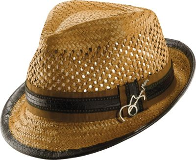 Carlos Santana Hats Mohican Hat L/XL - Honey - Large/Xlarge - Carlos Santana Hats Hats
