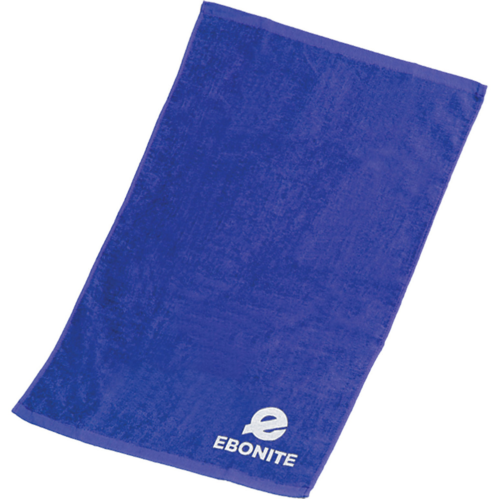 Ebonite Branded Cotton Towel Blue Ebonite Sports Accessories