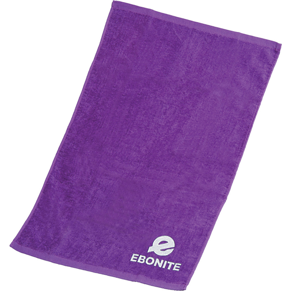 Ebonite Branded Cotton Towel Purple Ebonite Sports Accessories