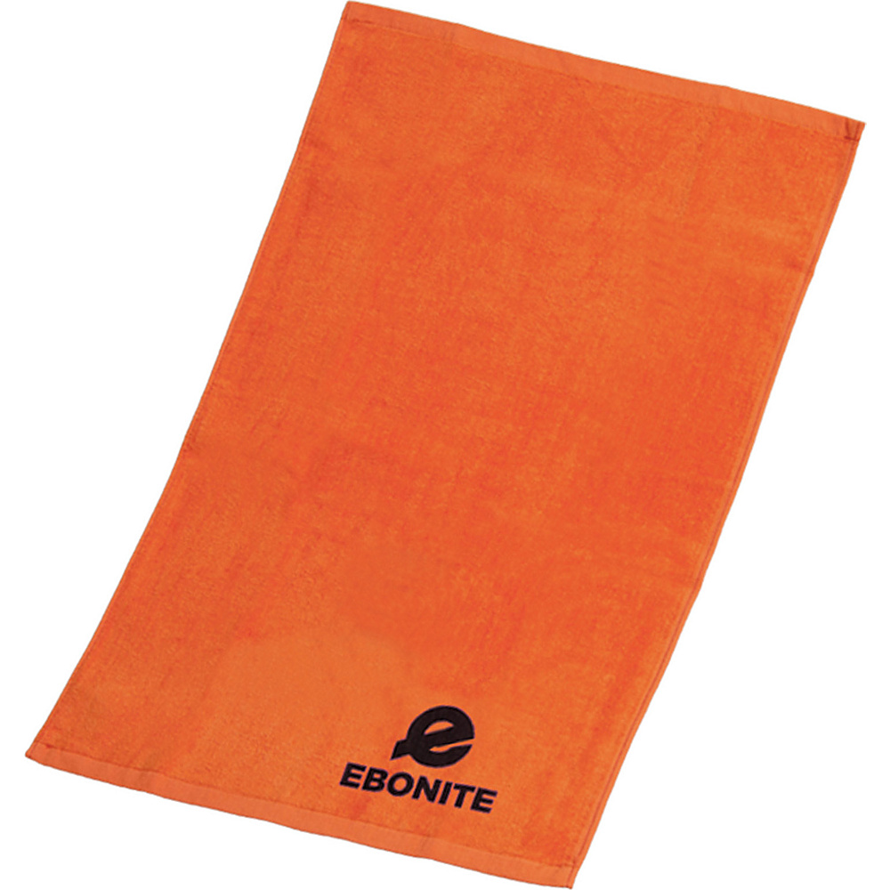 Ebonite Branded Cotton Towel Orange Ebonite Sports Accessories