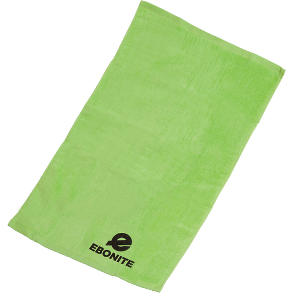 Ebonite Branded Cotton Towel Lime Ebonite Sports Accessories