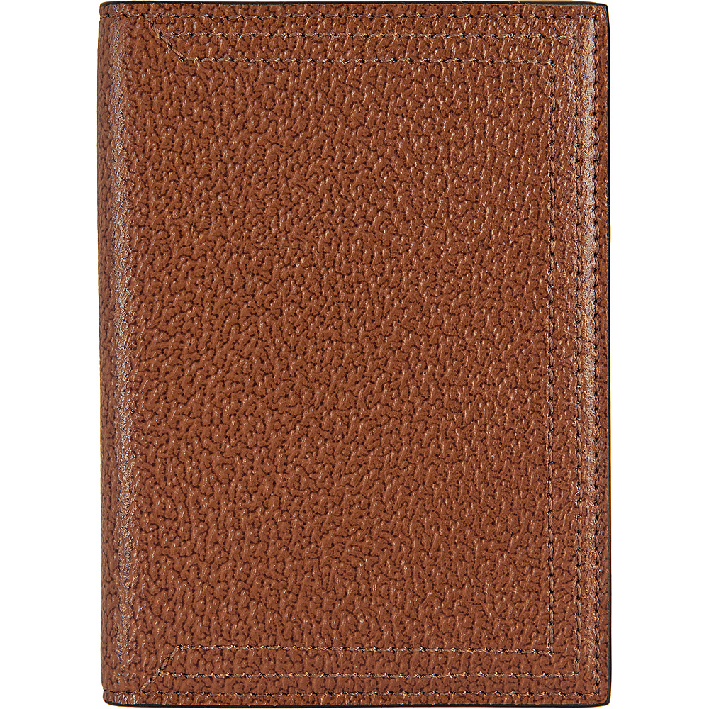 Lodis Stephanie Under Lock & Key Passport Cover Chestnut - Lodis Travel Wallets - Travel Accessories, Travel Wallets