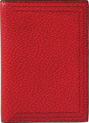 Lodis Stephanie Under Lock & Key Passport Cover Red - Lodis Travel Wallets