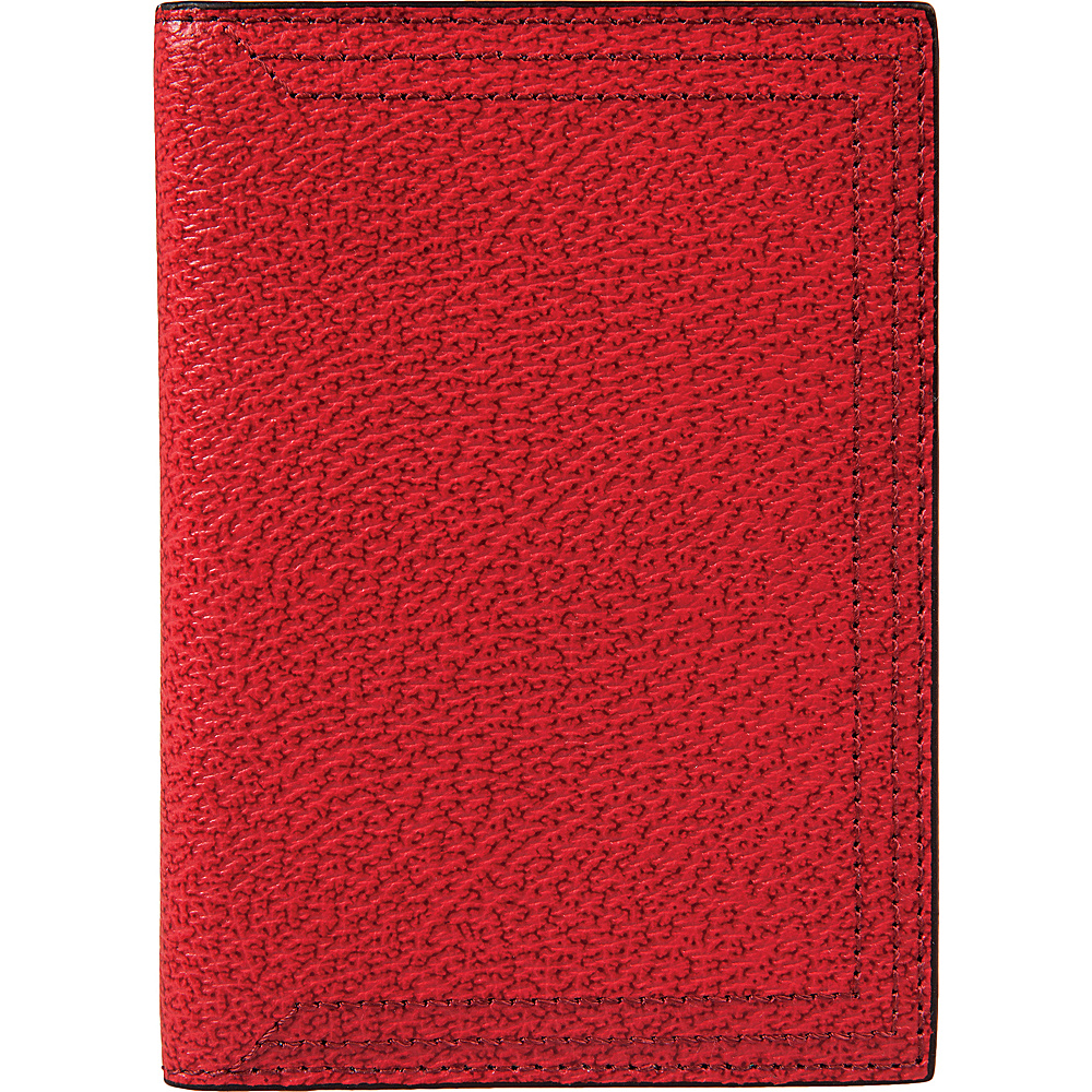 Lodis Stephanie Under Lock & Key Passport Cover Red - Lodis Travel Wallets - Travel Accessories, Travel Wallets