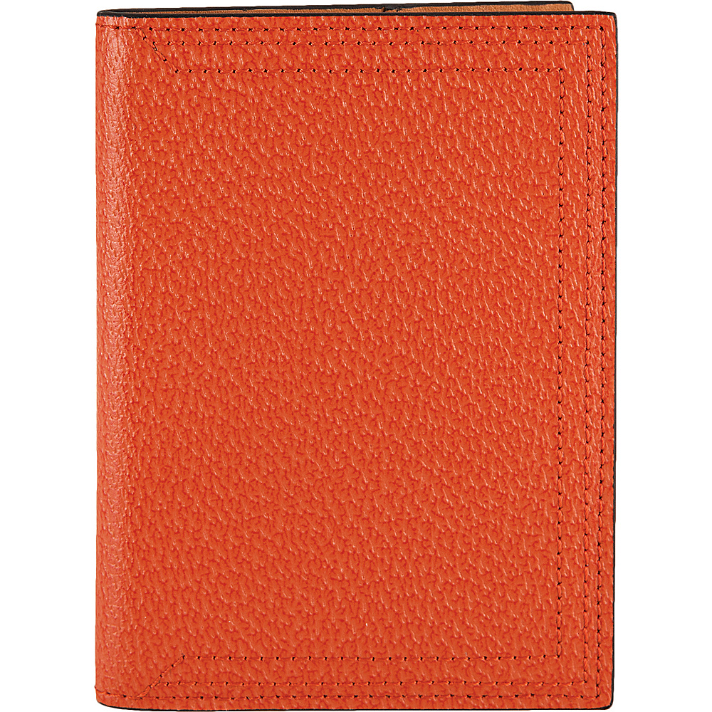 Lodis Stephanie Under Lock & Key Passport Cover Orange - Lodis Travel Wallets - Travel Accessories, Travel Wallets