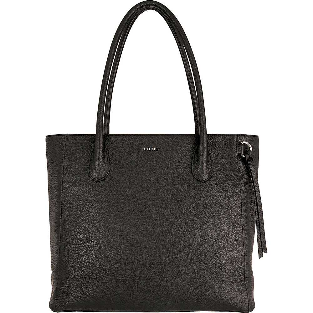 Lodis Valencia Cecily Satchel Black - Lodis Leather Handbags - Handbags, Leather Handbags
