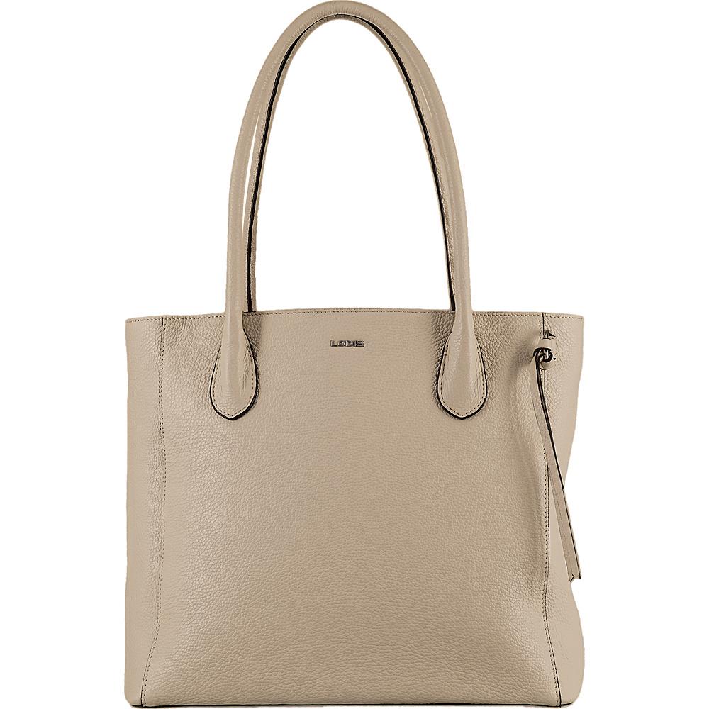 Lodis Valencia Cecily Satchel Cream - Lodis Leather Handbags - Handbags, Leather Handbags