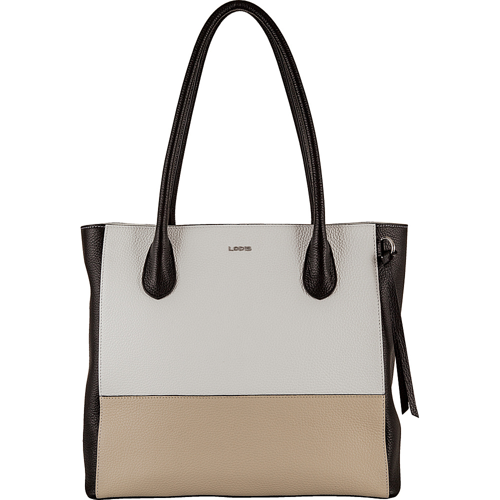 Lodis Valencia Cecily Satchel Tan Multi - Lodis Leather Handbags - Handbags, Leather Handbags