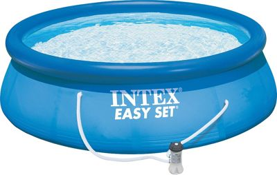 Intex 15'x42 Easy Set Pool Set Blue - Intex Outdoor Accessories