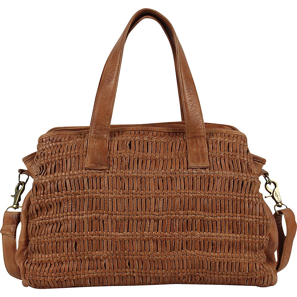 Day Mood Alma Satchel Cognac Day Mood Leather Handbags
