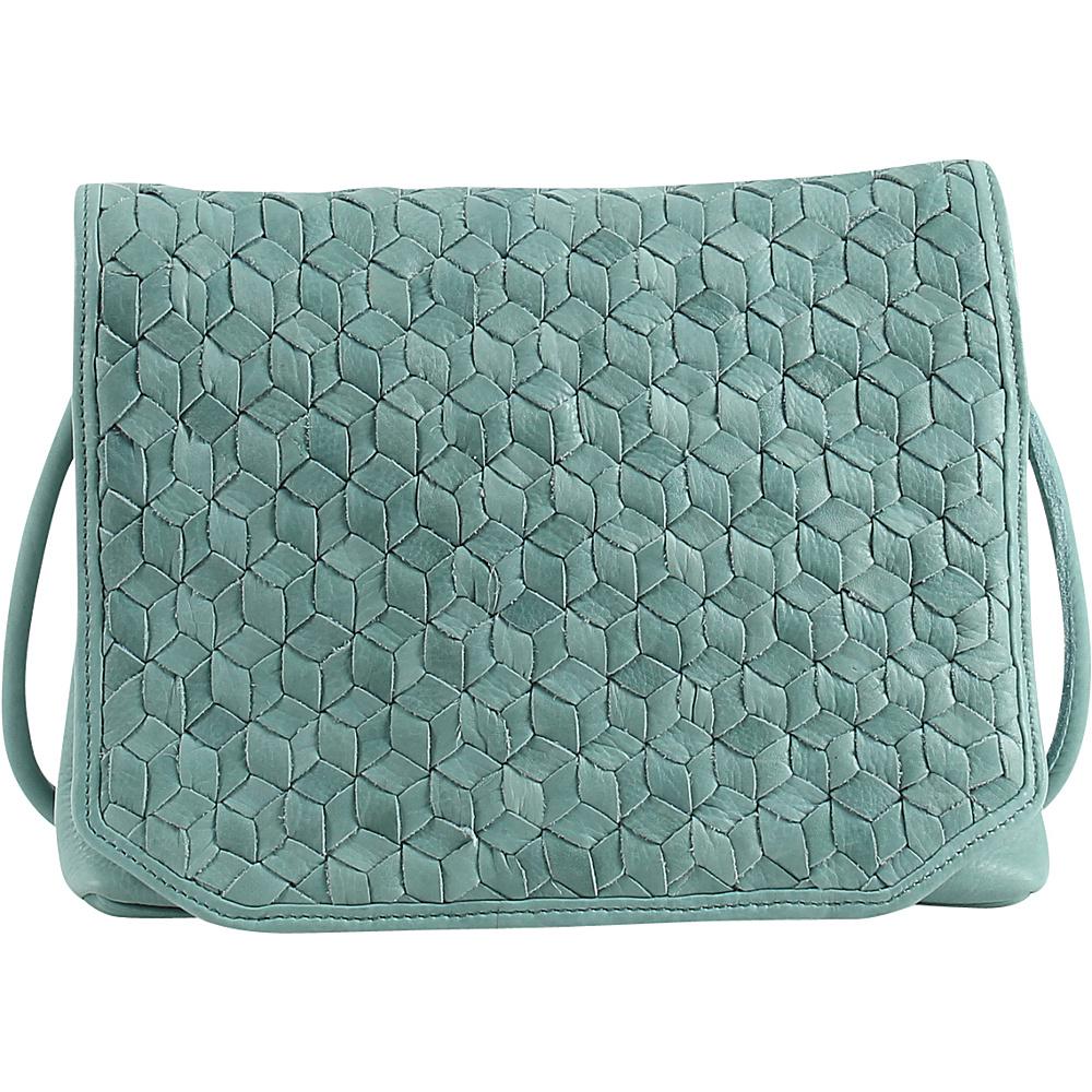 Day Mood Nova Crossbody Dusty Green Day Mood Leather Handbags