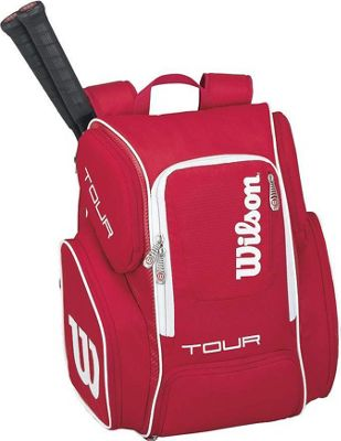 Wilson Tour V Large Backpack Red - Wilson Racquet Bags