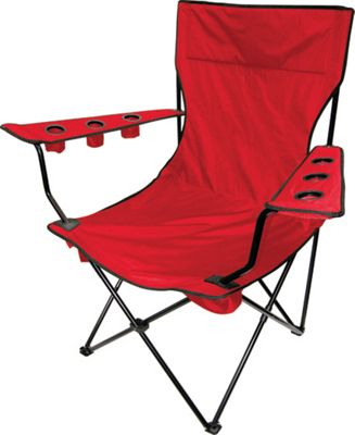 Creative Outdoor Kingpin Folding Chair Red - Creative Outdoor Outdoor Accessories