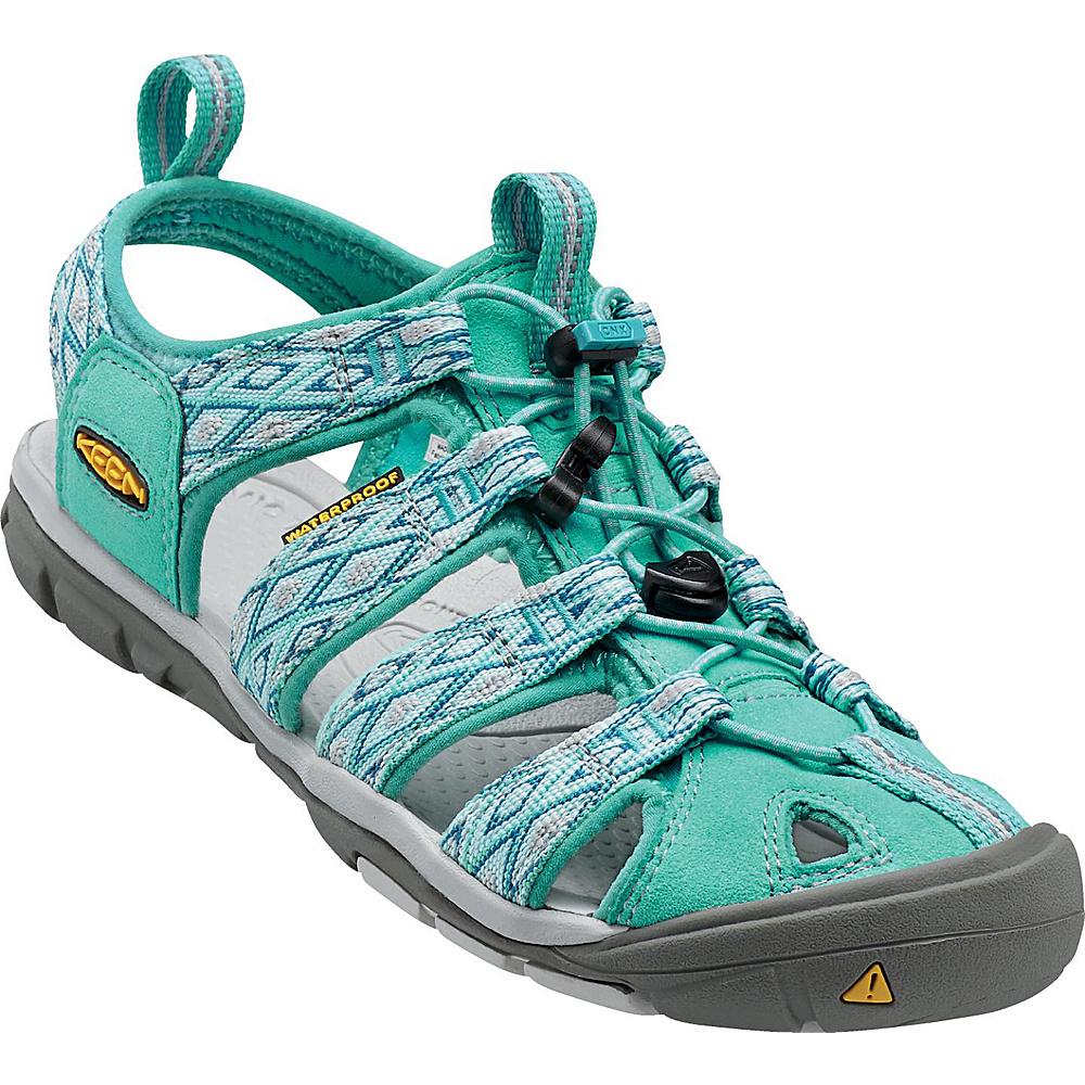 KEEN Womens Clearwater CNX Sandal 5 - Lagoon/Vapor - KEEN Womens Footwear - Apparel & Footwear, Women's Footwear