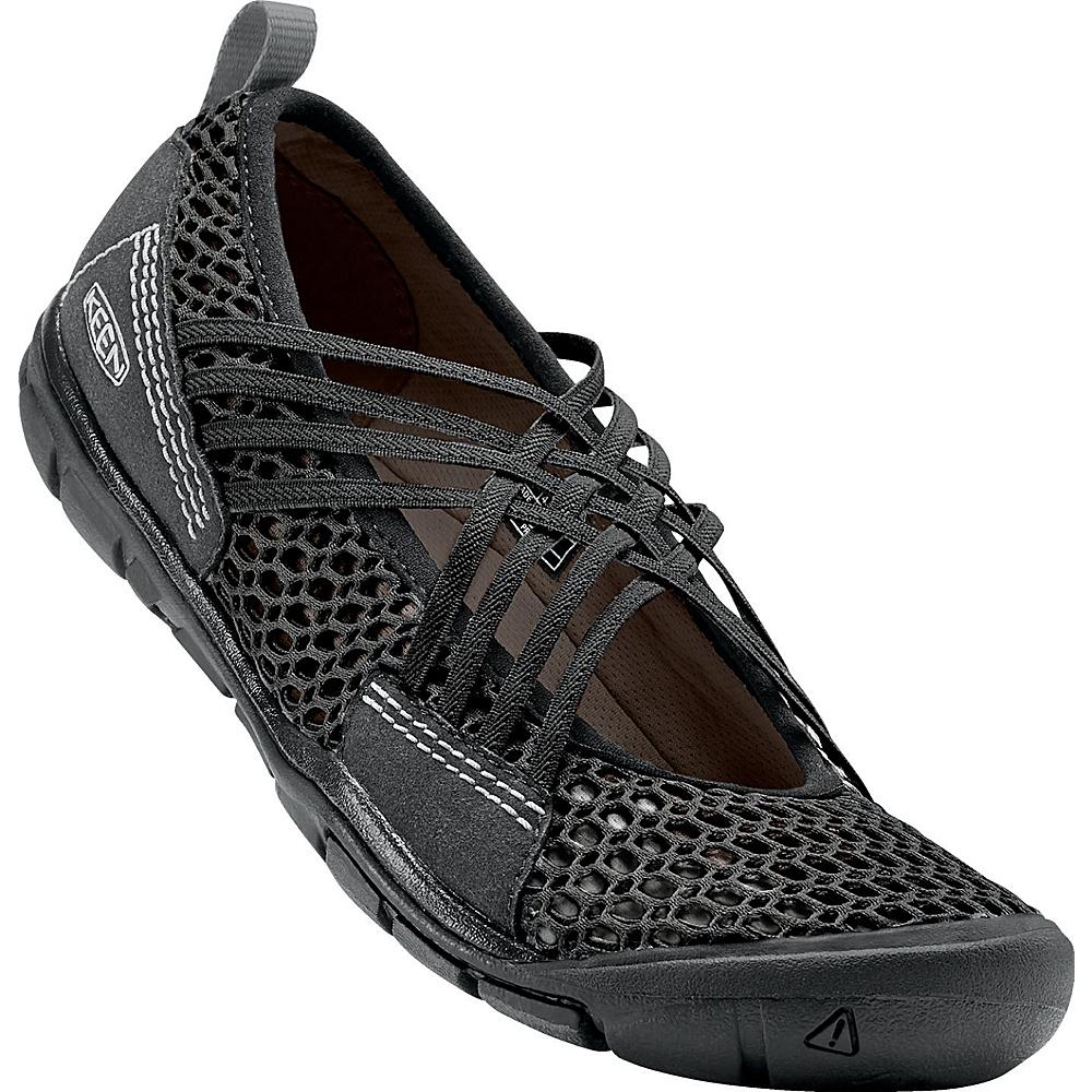 KEEN Womens CNX Zephyr Criss Cross Shoes 6 - Black / Gargoyle - KEEN Mens Footwear - Apparel & Footwear, Men's Footwear