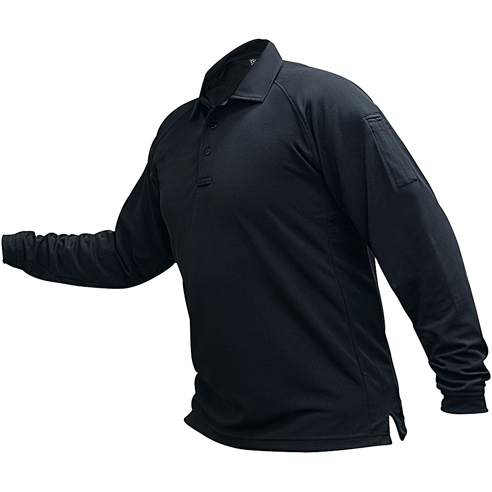 Vertx Mens Coldblack Long Sleeve Polo 3XL - Navy - Vertx Mens Apparel - Apparel & Footwear, Men's Apparel