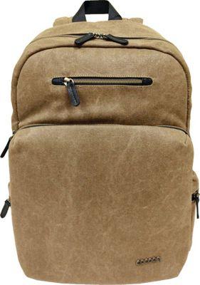 Cocoon Urban Adventure 16 inch Backpack Khaki - Cocoon Laptop Backpacks
