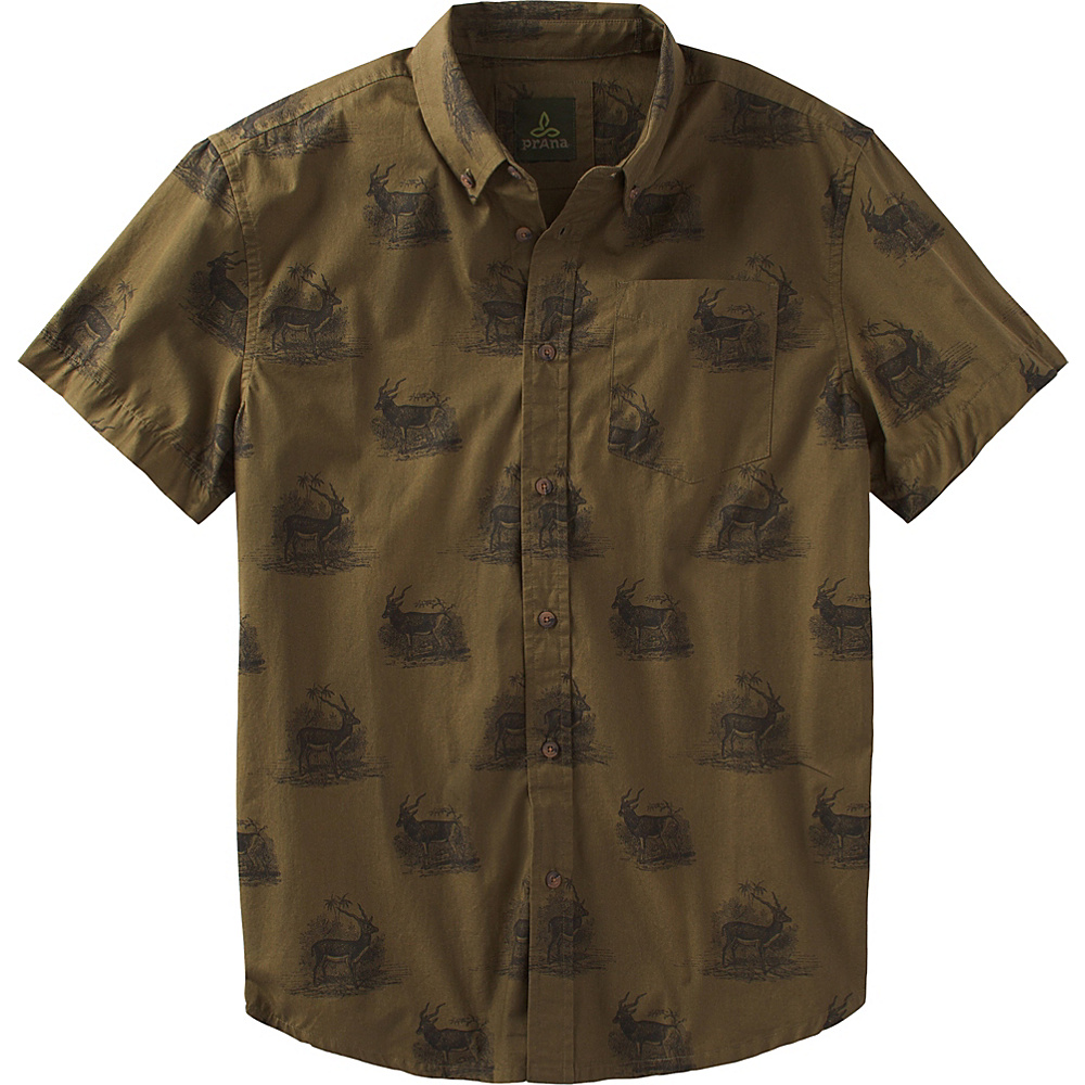 PrAna Broderick Shirt XL - Hazel - PrAna Mens Apparel - Apparel & Footwear, Men's Apparel